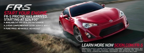 Scion FR-S Pricing, Available Soon At SF Toyota