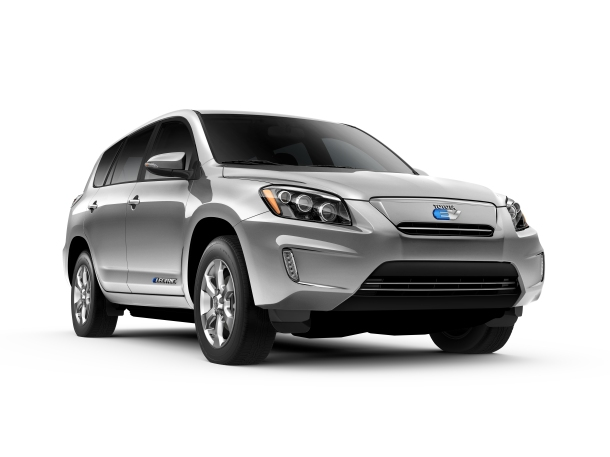 All New RAV4 EV - available soon