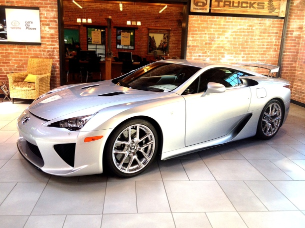 Lexus LFA - At San Francisco Toyota