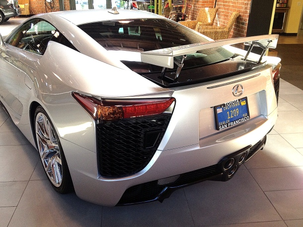 Lexus LFA - Back view