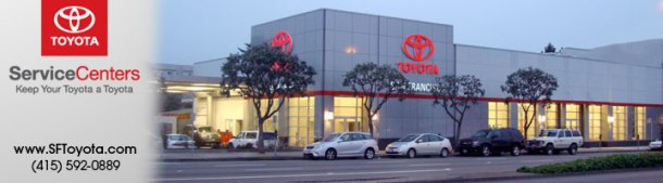 San Francisco Toyota Service Center